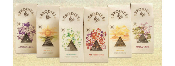 New Teas from Brodies Tea