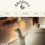 Brodies Tea Launches New Web Site